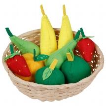 Fruits dans une corbeille