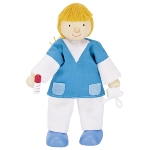 Flexible puppet, hospital nurse