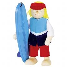 Biegepuppe Surfer