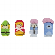 Finger puppets, Red riding hood