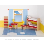 Furniture for flexible puppets, children's room, goki basic.