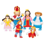 Flexible puppets Royal Family
