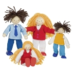 Flexible puppets lifestyle family