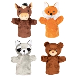 Hand puppets, animals Arino, Funu, Wassti and Baru