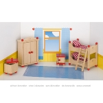 Furniture for flexible puppets, children's room