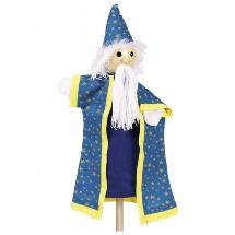 Hand puppet Magician