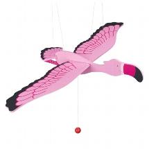 Flamingo, swinging animal