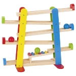 Ball track with xylophone