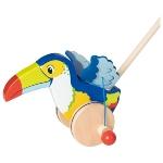 Toucan, push-along animal