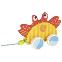 Pull-along animal crab