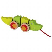 Pull-along Crocodile