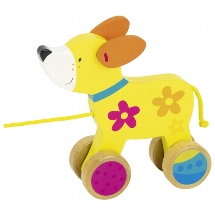 Pull-along dog, Susibelle