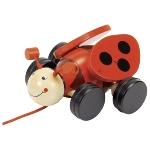 Pull-along ladybird Lil