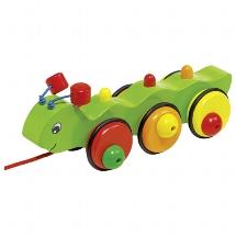 Caterpillar, pull along animal Wilma