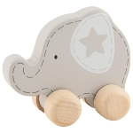 Push-along animal, elephant
