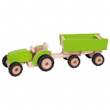 Tractor with trailer