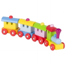 Train Sofia, with magnetic couplings