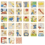 Memory game occupations