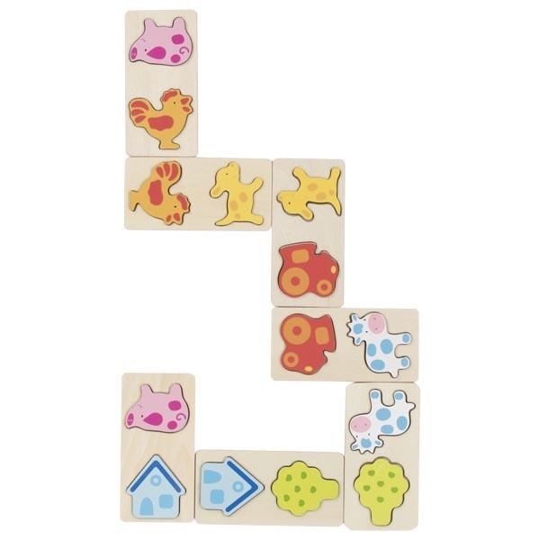 Goki Domino Game Ladybirds
