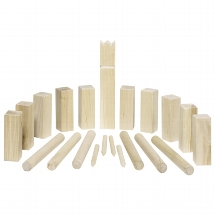Kubb, Vikings game, small size, in a cotton bag