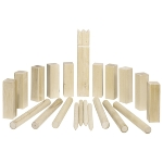 Kubb, Vikings game, middle size, in a cotton bag