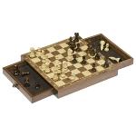 Jeu d'échecs magnétique avec tiroir