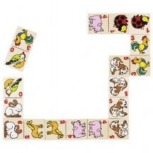 Animal domino game