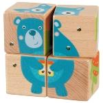 Puzzle de cubes animaux