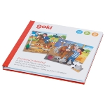 Puzzle book Horse-riding stable