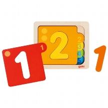 Schichtenpuzzle Zahlen