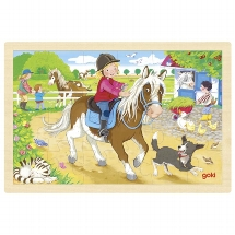 Puzzle pony farm