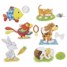 Set de puzzles Animaux de compagnie