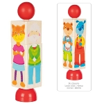 Rotatable puzzle animals
