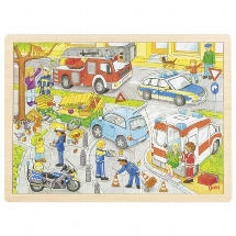 Puzzle police