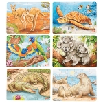 Mini-puzzle Australian animals