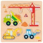 Puzzle, véhicules de chantier