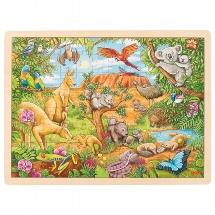 Puzzle, animaux d'Australie