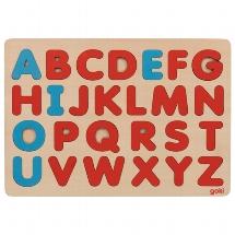 Alphabetpuzzle nach Art Montessori