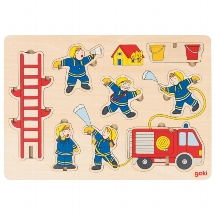 Stand-up puzzle  fire department