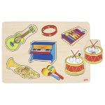 Soundpuzzle Musikalien, mit Instrumentensounds