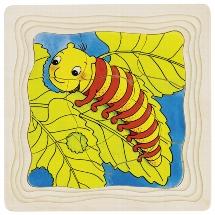 Puzzle caterpillar
