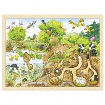 Puzzle, exploring nature