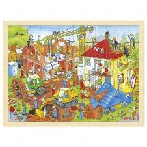 Puzzle, building site