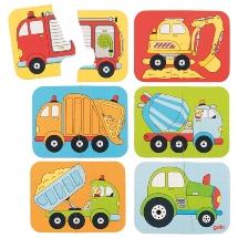 Minipuzzle Fahrzeuge