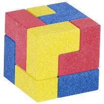 The cube, puzzle