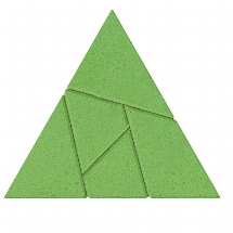 Le triangle, puzzle