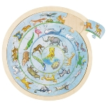 Puzzle animal circle