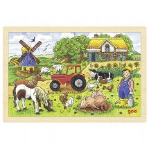 Mr. Millers farm, puzzle