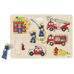 Fire brigade, lift-out puzzle