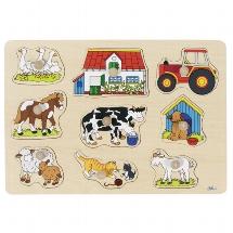 Farm I, lift-out puzzle